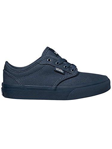 Vans y Atwood DIP, unisex de niños Zapatillas Blau - (dip) navy/navy/bleu