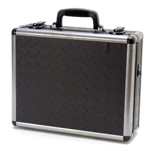 Alumitech Case - T.Z. Case International Ironite Duelly Twelve Pistol Case, Black, 12.5-Inch