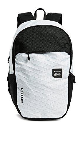 Herschel Supply Co. Men's Mammoth Medium Backpack, White/Black, One Size by Herschel Supply Co.