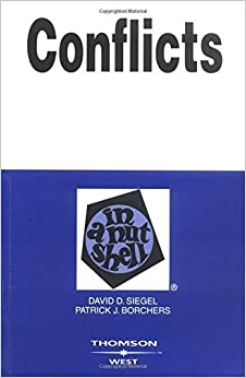 Conflicts in a Nutshell by David Siegel (2005-06-03)