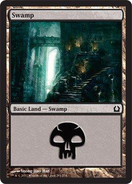 Magic: the Gathering - Swamp (261) - Return to Ravnica - Foil ()