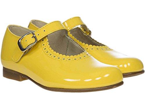 Panache Kids Mary Jane Traditional Girls Shoe Dark Yellow jZxEONA