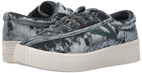 Crushed Women's Velvet Nylite4bold 3 Sneaker Uk Grey Tretorn 6wI11d