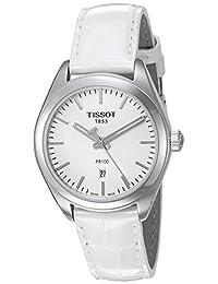 Tissot Women's T1012101603100 PR 100 Analog Display Swiss Quartz White Watch