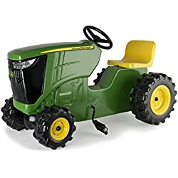 TOMY John Deere Plastic Pedal Tractor Green