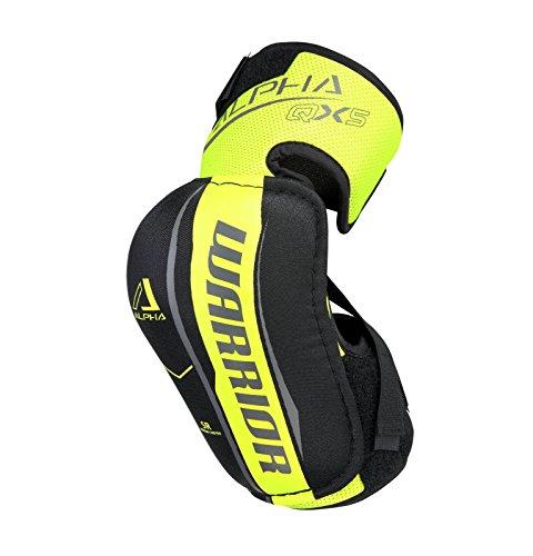 Jr Elbow Pad, Black/Yellow, Large ()