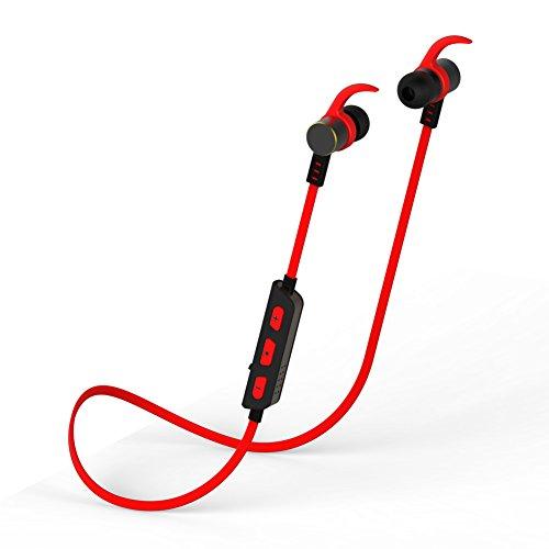 amuoc bluetooth headphones noise isolation waterproof headphones with ear hoo. Black Bedroom Furniture Sets. Home Design Ideas