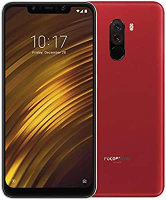 Xiaomi POCOPHONE F1 Dual SIM - 64GB, 6GB RAM, 4G LTE, Red