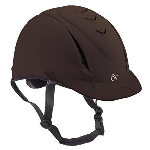 Ovation Deluxe Schooler Helmet Medium/Large Brown
