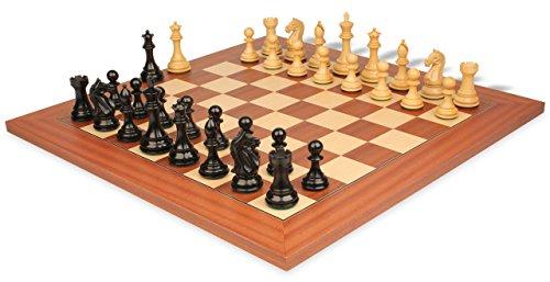 Mahogany Maple Chess Board - 8