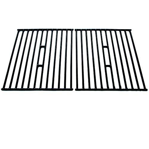 Direct Store Parts DC112 Polished Porcelain Coated Cast Iron Cooking Grid Replacement Broil King, Broil-Mate, Huntington, Silver Chef,Sterling Gas ()