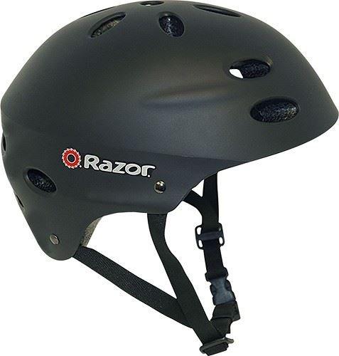 Razor V-17 Youth Multi-Sport Helmet Teen Protection Safety Matte Black