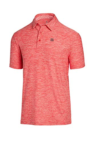Shirt Golf Best Friend - Three Sixty Six Golf Shirts for Men - Dry Fit Short-Sleeve Polo, Athletic Casual Collared T-Shirt
