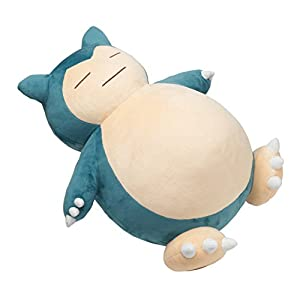 "Pokemon Center Japan 18"" Giant Snorlax Stuffed Plush(Discontinued by manufacturer) - 41vl5MuXKuL - Pokemon Center 18″ Giant Snorlax Stuffed Plush"