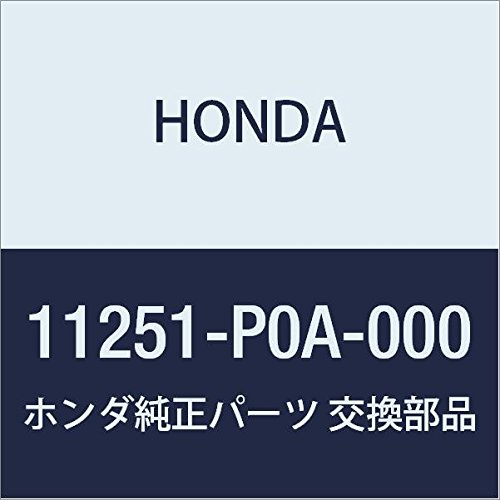 Genuine Honda 11251-P0A-000 Oil Pan Gasket (Honda 91 Pan Oil Gasket Accord)