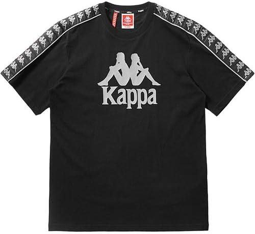 メンズ レディース 222 BANDA ショートスリーブTシャツ ブラック KPARWTD62M BK