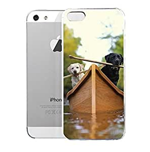 Light weight with strong PC plastic case for iPhone iphone 6 4.7 Lifestyle Animals Loose Leashes -Lewie & Clark Adventures