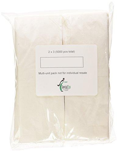 Special Tea Empty Tea Bags Bulk Case, 2 x 3 Inches, 5000 Count