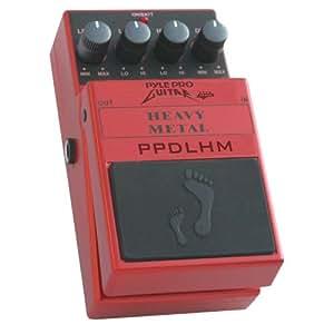 pyle pro ppdlhm heavy metal distortion effect guitar pedal musical instruments. Black Bedroom Furniture Sets. Home Design Ideas