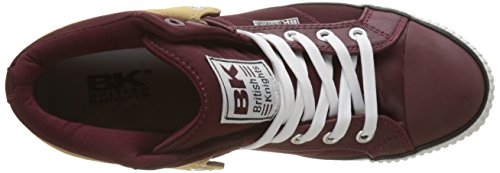 buy cheap pick a best British Knights Men's Roco Hi-Top Trainers Rouge (Dk Burgundy/Black) buy cheap pictures clearance factory outlet cheap largest supplier shopping online sale online wXUzC7zTgB