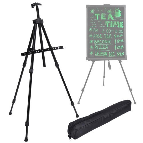 Portable Folding LED Writing Board Tripod Stand/Easel Menu Message Sign Display by Autolizer