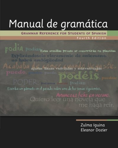 Manual de gramática: Grammar Reference for Students of Spanish (World Languages)