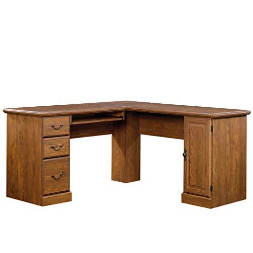 - Sauder 418648 Orchard Hills Corner Computer Desk, L: 84.09