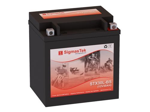 12 Volt 30 Amp Hour Sealed Lead Acid Battery Replacement with NB Terminals by SigmasTek STX30L-BS
