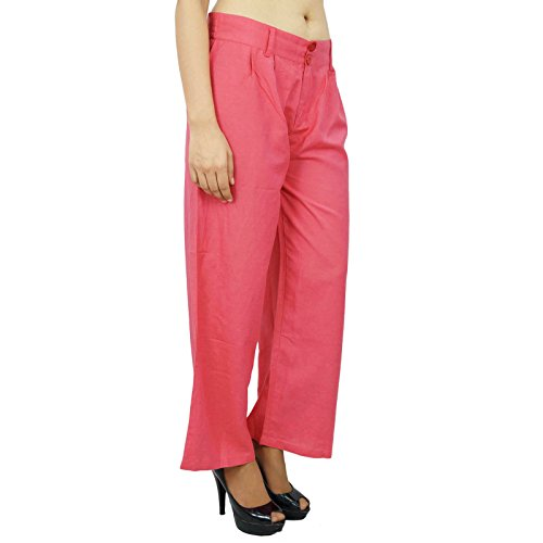 Yoga Boho Harem Harem Casual Hippie Las mujeres usan pantalones indias Saumon