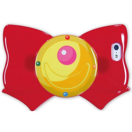 Sailor Moon Iphone 5s/5 Case Ribbon Shap Red Transformation Brooch ()