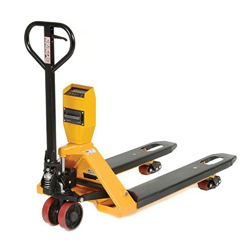 Low Profile Pallet Scale Truck, NTEP Approved Legal for Trade, 5000 Lb. Capacity