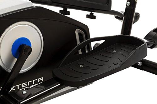 "XTERRA FS150 Elliptical Trainer Equipment, 50"" x 23"" x 64.2"", Black"