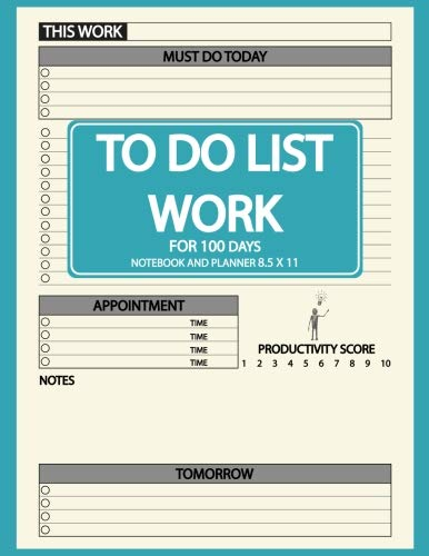 Pdf Money To Do list Notebook for Work Planner 8.5 x 11: 100 Days for Daily Planner, To Do List and Appointment, Business Planner Notebook, Business Notebook ... Cream Paper, Large Size, 8.5 x 11 (Volume 2)