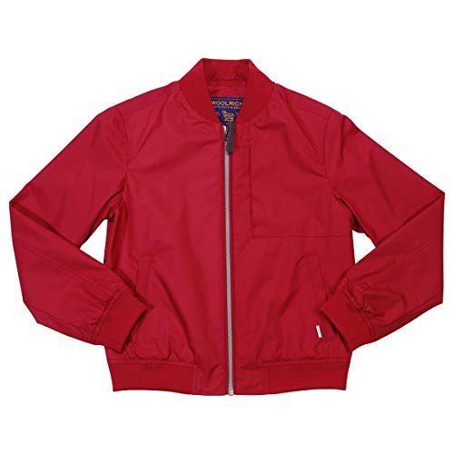 Mod Nylon Woolrich Rosso Bomber Boy Wkcps20125361 In wXqPqUp