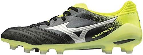 メンズ レディース サッカー スパイク モナルシーダ ネオ ジャパン MONARCIDA NEO JAPAN ブラック×シルバー×イエロー