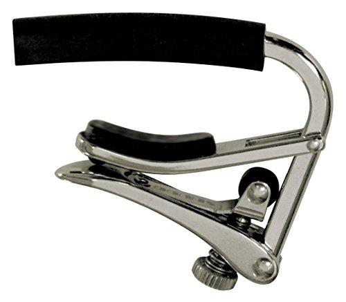 Shubb Standard Series GC-20E (C4) Electric Guitar Capo - Polished Nickel by Shubb