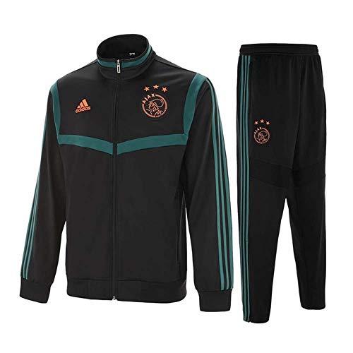 adidas 2019-2020 Ajax PES Tracksuit (Black)