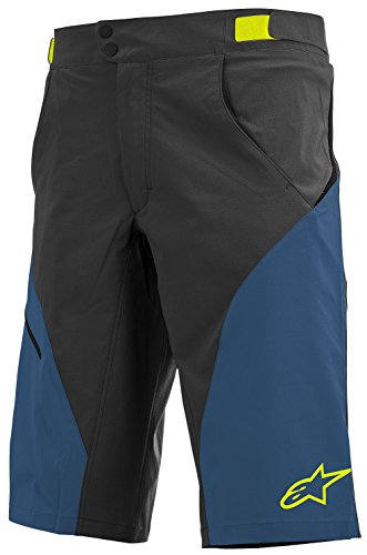 - Alpinestars Men's Pathfinder Shorts, Size 32, Black/Royal Blue
