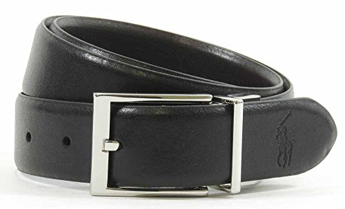 Ralph Lauren Reversible Belt (Ralph Lauren Black & Brown Leather Reversible Belt (36))