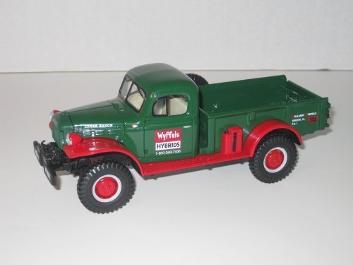 - First Gear Die Cast Truck, 18-2797, 1949 Dodge Power Wagon-Express Pickup, Wyffels Hybrids, 1/30th scale