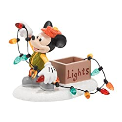 Department 56 Disney Village Mickey Lights Up Christmas...