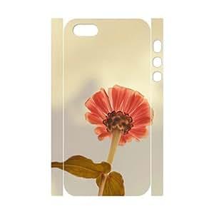 3D Case For Iphone 6 4.7 Inch Cover Cases Red Sunflower, Case Stevebrown5v - White