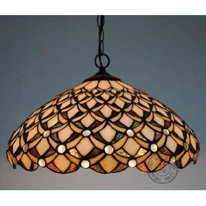 Price comparison product image Tiffany-style Natural shell Material Pendant Light Aisle lights Entrance lights