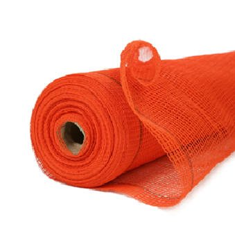 RK Heavy Duty 4-ft x 150-ft Fire Retardant Vertical Safety Netting, High Visibility Orange by RK Industries Group, Inc