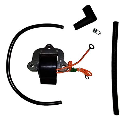 Aftermarket Marine Ignition Coil Module for Johnson Evinrude Outboard Motor 18 20 25 35 HP Replaces 502881, 581786 and Sierra 18-5172
