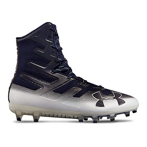 Under Armour Men's Highlight MC Football Shoe, Midnight Navy (402)/White, 9