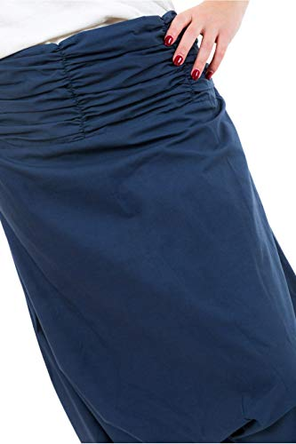 Azul Fantazia Mujer Para Harem Pantalón ZnqP8xg6