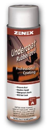 Zenex Undercoat Premium Rubberized Undercoating - 12 Cans (Case) by Zenex