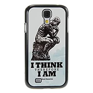Intuitive-Thinkers Pattern Aluminum&Plastic Hard Back Case Cover for Samsung Galaxy S4 I9500