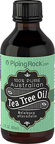 Piping Rock 100% Pure Tea Tree Oil Australian, 2 fl oz (59 ml) Bottle by Piping Rock